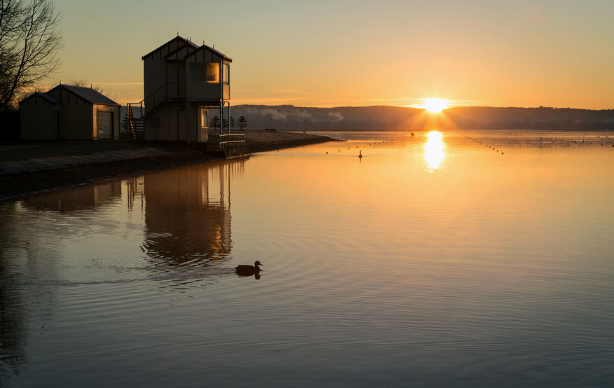 Sunrise over Lake Wendouree, Jill Wharton