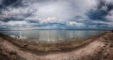 A Panoramic view of Lake Burrumbeet Betty Bibby