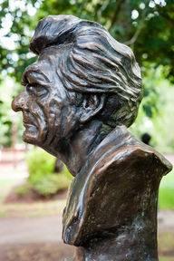 Prime Minsters of Australia Bust, Botanical Gardens, Ballarat