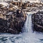 Aldyerfoss Waterfall Peter Kewley Second in Section