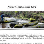 Andrew Thomas Landscape Outing Page 1