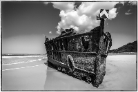Highly Commended Fraser Island Wreck Betty BIbby