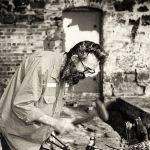 Blacksmith at Anderson Mill by Betty Bibby (1st Place Ballarat)