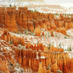 Bryce Canyon in the Snow by Judy McEachern Scored 13 2nd Place