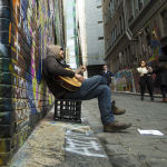 Busker by Henrietta Camilleri 1st Place + Bon Strange Novice Image of the Year