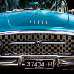 Cool Blue Car by Betty Bibby Scored 12