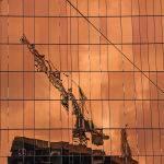 Crane at Sunset by Murray McEachern Scored 10