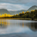 Lake Matheson, Sth Island, NZ by Betty Bibby Scored 10
