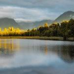 Lake Matheson, Sth Island, NZ by Betty Bibby Scored 10