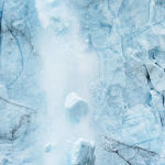 Glacier Calving by Judy McEachern 1st Place