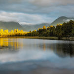 Lake Matheson , Sth Island New Zealand by Betty Bibby 2nd Place
