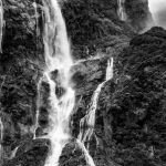 Milford Sounds Waterfall by Betty Bibby Scored 14
