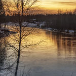 Lulea Sunset (Judy Mc Eachern)