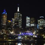 Melbourne at Night (Geoff James)