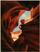 Midday Moon,Antelope Canyon - Peter Dwyer :Second in Section