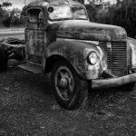 Old International by Betty Bibby
