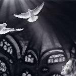Peace Doves by Robert Williamson Merit
