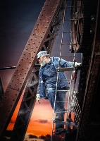 Climbing High (Adrian Donoghue) First in Section