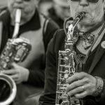 Street Band Sax Players (Greg Tate)
