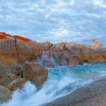 Waves and Rocks - Trevor Bibby